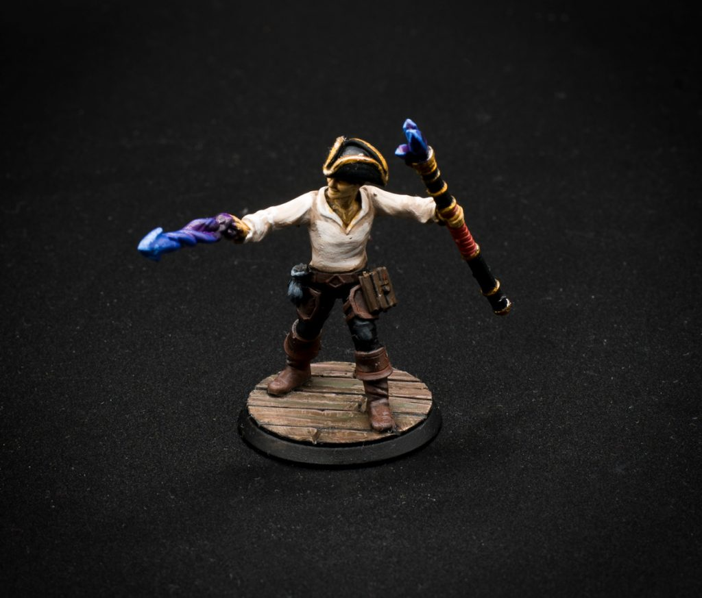 dungeons and dragons miniatures Warlock